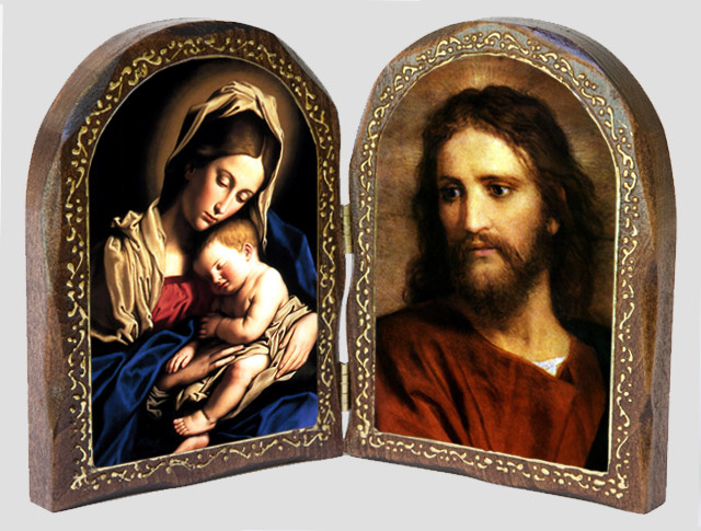 Catholic Artwork -Madonna and Child / Jesus Christ at 33 Wood Di