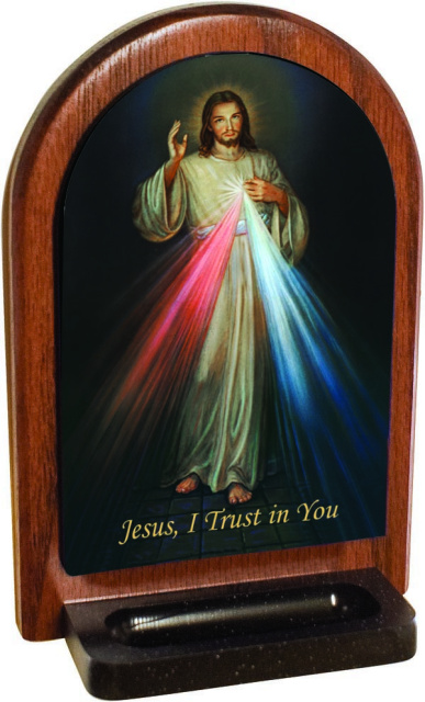 Divine Mercy Jesus Holy Water Font