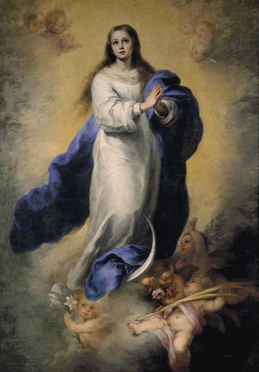 Immaculate Conception by Murillo - Religious Image