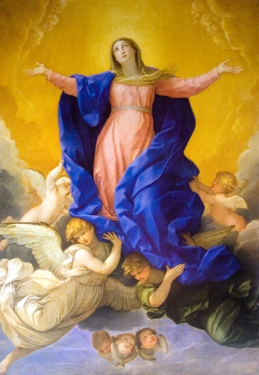 Assumption of Mary by Guido Reni - Religious Image