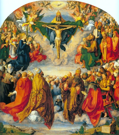 Adoration of the Trinity - Religious Image