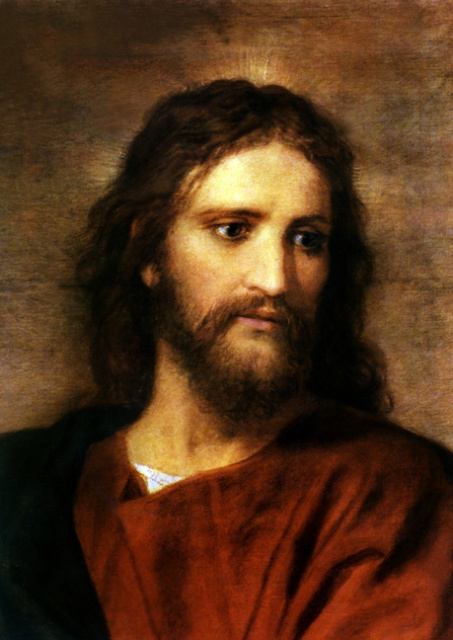 Christ at 33 by Heinrich Hofman - Religious Image