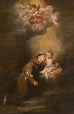 St. Anthony of Padua with the Child Jesus